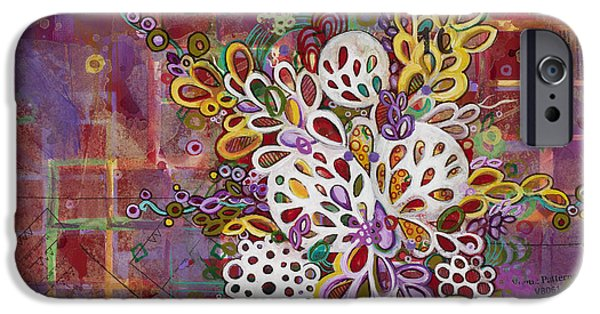 Cancerous iPhone Cases - Cell No.16 iPhone Case by Angela Canada-Hopkins