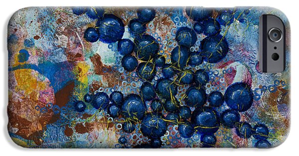 Cancerous iPhone Cases - Cell No.20 iPhone Case by Angela Canada-Hopkins