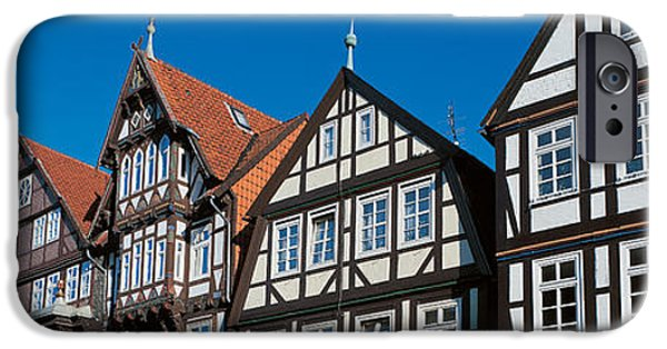 Tile Roofs iPhone Cases - Celle Niedersachsen Germany iPhone Case by Panoramic Images
