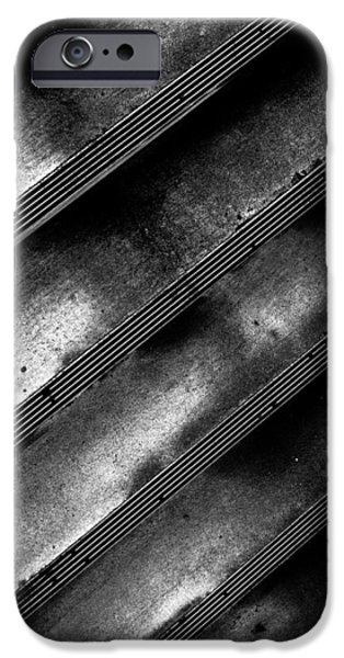 Cement Steps Number Two iPhone Case by Bob Orsillo