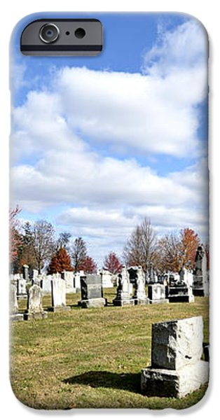 Cemetery at Gettysburg National Battlefield iPhone Case by Brendan Reals