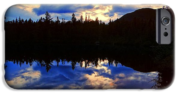 Nature Center Pond iPhone Cases - Center Pond iPhone Case by Tim  Canwell