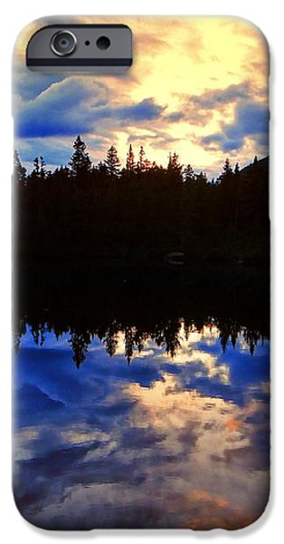 Center Pond iPhone Case by Tim  Canwell