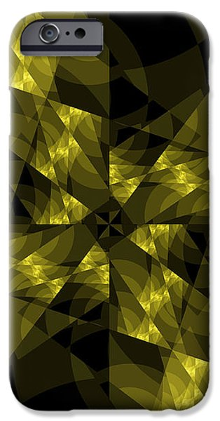 Center Square iPhone Case by Elizabeth McTaggart
