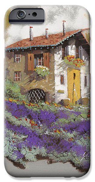 House iPhone Cases - Cento Lavande iPhone Case by Guido Borelli