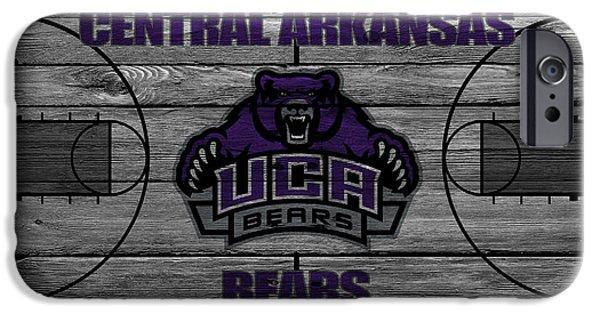 Arkansas iPhone Cases - Central Arkansas Bears iPhone Case by Joe Hamilton