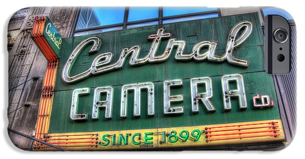 Central Il iPhone Cases - Central Camera iPhone Case by Andrew Slater