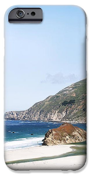 Central Coast Beach Near Cambria and San Simeon iPhone Case by Artist and Photographer Laura Wrede