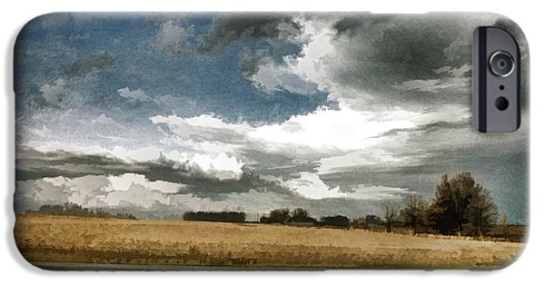 Storm iPhone Cases - Midwest - Central Illinois Tornados - Luther Fine Art iPhone Case by Luther   Fine Art