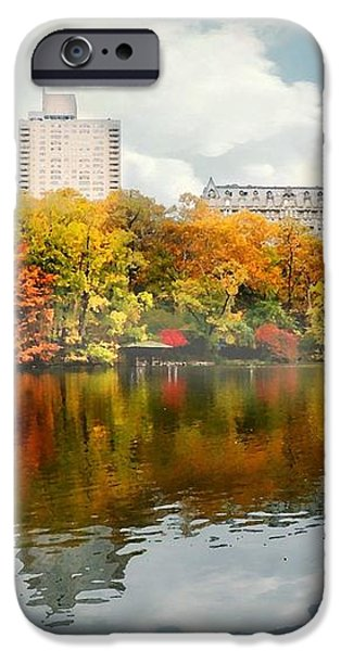 Central Park #1 iPhone Case by Diana Angstadt