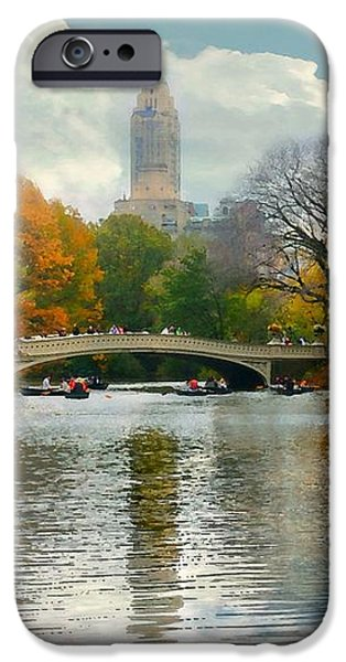 Central Park #6 iPhone Case by Diana Angstadt