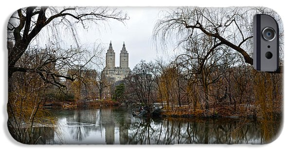 Rita iPhone Cases - Central Park and San Remo building in the background iPhone Case by RicardMN Photography