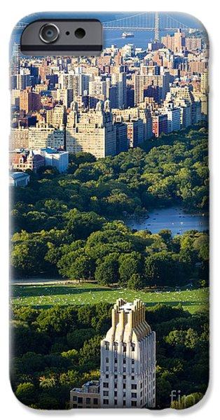 Central Park iPhone Case by Brian Jannsen