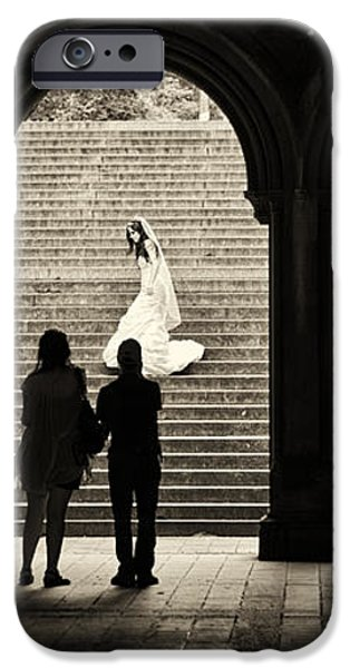 Central Park Bride iPhone Case by Madeline Ellis