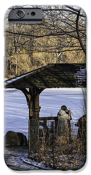 Central Park Photo Op 2 - NYC iPhone Case by Madeline Ellis