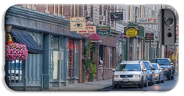 Central Massachusetts iPhone Cases - Central Street 2010 iPhone Case by David Stone