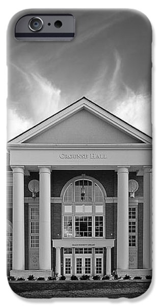 Centre College - Crounse Hall iPhone Case by University Icons