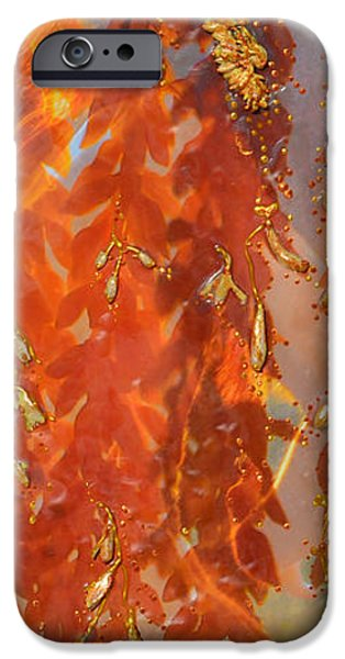 Abstract Forms iPhone Cases - Ceremoniously Dangerous Pleasures iPhone Case by Deprise Brescia