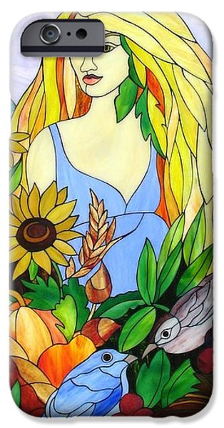 Print Glass iPhone Cases - Ceres iPhone Case by Suzanne Tremblay