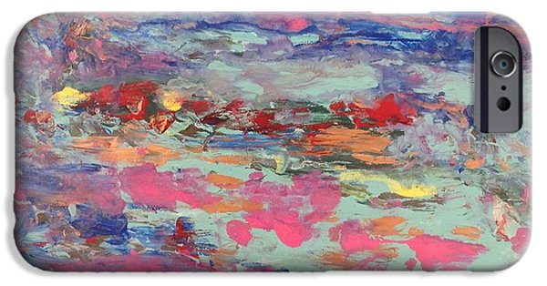 Fukushima iPhone Cases - Cesium Seascape 3 iPhone Case by Bruce Brand