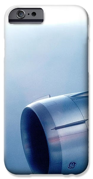 CF6-6 Jet Engine for a DC-10 iPhone Case by Wernher Krutein