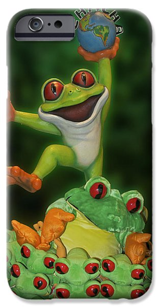 Cha Cha Sign iPhone Case by Thomas Woolworth