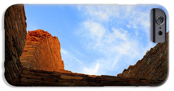 Chaco iPhone Cases - Chaco Canyon Silence Is Golden iPhone Case by Bob Christopher