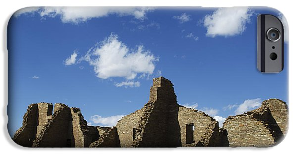Historic Site iPhone Cases - Chaco Ruins I iPhone Case by David Gordon
