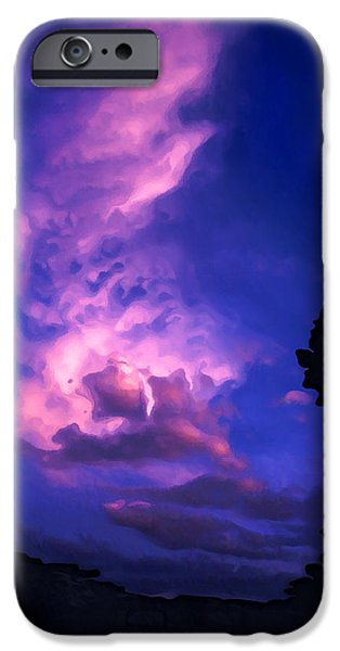 Chaco iPhone Cases - Chaco Sunset iPhone Case by Bill Caldwell -        ABeautifulSky Photography