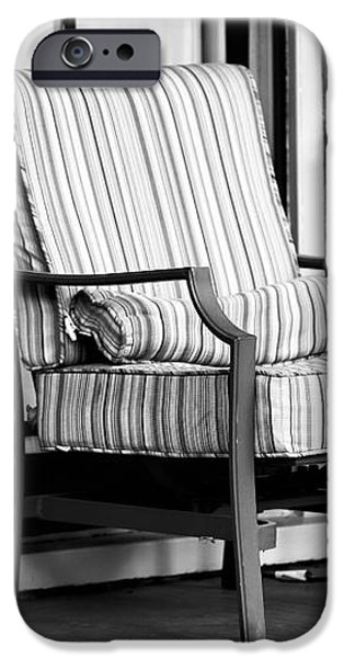 Chair on the Porch iPhone Case by John Rizzuto