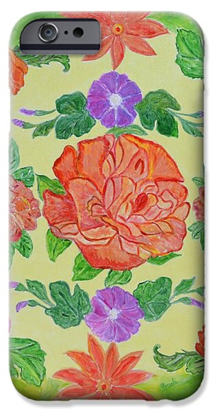 Chaitra Mandala iPhone Case by Sonali Gangane