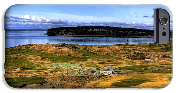 Us Open iPhone Cases - Chambers Bay Golf Course iPhone Case by David Patterson