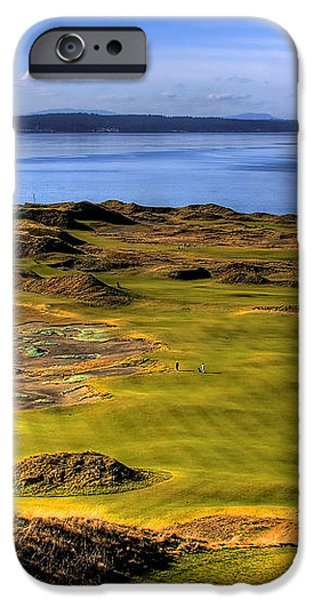 Chambers Bay Golf Course II iPhone Case by David Patterson