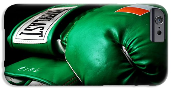 Champ Boxer iPhone Cases - Champ iPhone Case by John Rizzuto