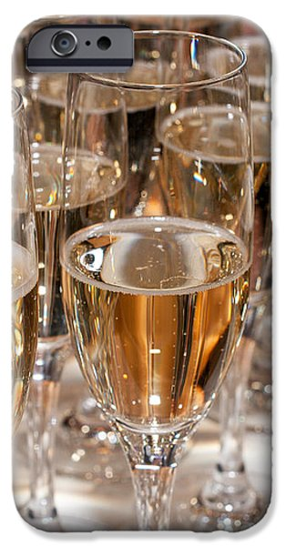 Champagne 01 iPhone Case by Rick Piper Photography