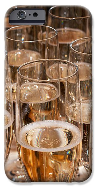 Champagne 02 iPhone Case by Rick Piper Photography