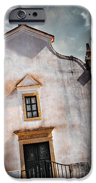 Old Churches iPhone Cases - Chapel Facade iPhone Case by Carlos Caetano