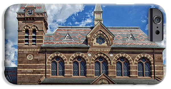 D.c. iPhone Cases - Chapel Hall iPhone Case by Mountain Dreams