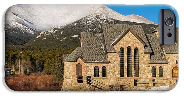 Chapel On The Rock iPhone Cases - Chapel on the Rock iPhone Case by Aaron Spong