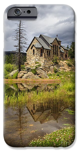 Chapel On The Rock iPhone Cases - Chapel on the Rock iPhone Case by Dennis Hedberg