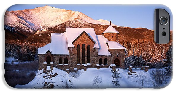 Chapel On The Rock iPhone Cases - Chapel on the Rock iPhone Case by Derek Regensburger