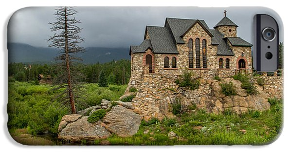Chapel On The Rock iPhone Cases - Chapel on the Rock - II iPhone Case by Jeff Stoddart