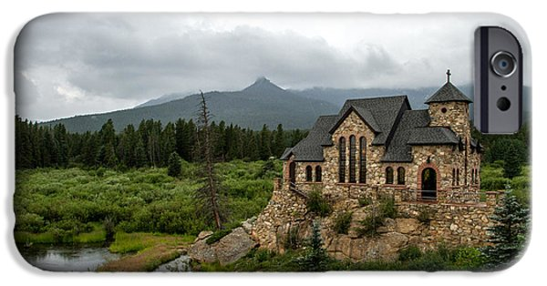 Chapel On The Rock iPhone Cases - Chapel on the Rock iPhone Case by Jeff Stoddart