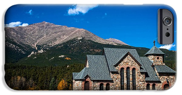 Chapel On The Rock iPhone Cases - Chapel on the Rock iPhone Case by Patricia A Harris