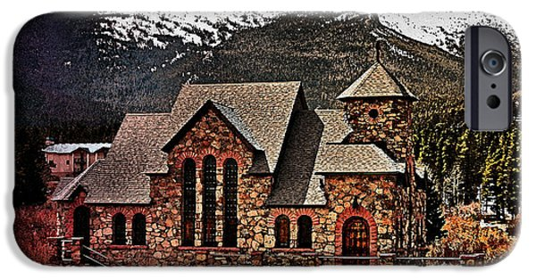 Pope Mixed Media iPhone Cases - Chapel on the Rock  watercolor iPhone Case by Cheryl Young