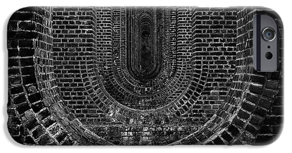 Brick iPhone Cases - Chapel Viaduct Essex UK iPhone Case by Martin Newman