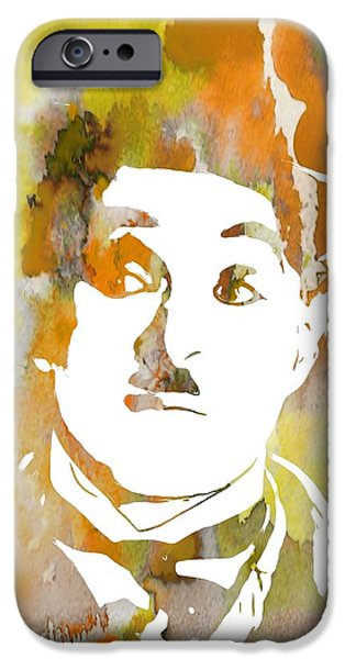 The Tramp iPhone Cases - Chaplin iPhone Case by Dan Sproul