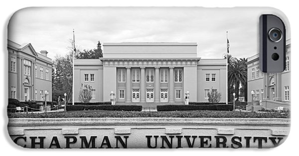 California Photographs iPhone Cases - Chapman University Memorial Hall iPhone Case by University Icons