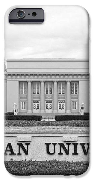 Chapman University Memorial Hall iPhone Case by University Icons