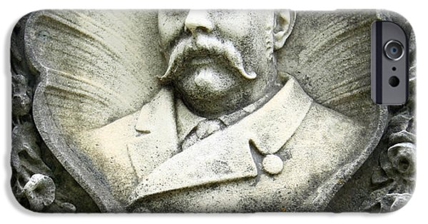 Cora Wandel iPhone Cases - Charles La Diolans Council Rogers Bass iPhone Case by Cora Wandel